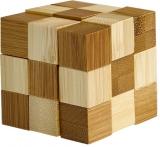 Puzzle Bamboo Snake Cubes, Eureka!