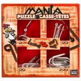 Set de 4 puzzle-uri 3D Mania Casse Tetes Red Eureka!