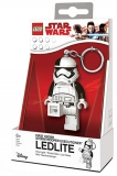 Breloc cu lanterna Stormtrooper LGL-KE115 LEGO Star Wars