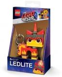 Breloc cu lanterna Angry Kitty LGL-KE147 LEGO Movie 2