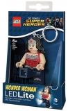 Breloc cu lanterna Wonder Woman LGL-KE70A LEGO DC Super Heroes