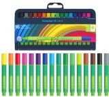 Set fineliner 0.4 mm, 16 culori, Link-It Schneider