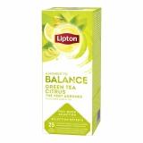 Ceai verde Classic Citrice 25 plicuri/cutie Lipton
