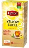 Ceai negru Yellow Label 25 plicuri/cutie Lipton