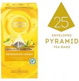 Ceai Exclusive Selection negru cu coaja de lamaie 25 plicuri piramida/cutie Lipton