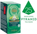 Ceai Exclusive Selection Green Tea and Intense Mint, 25 plicuri piramida/cutie Lipton
