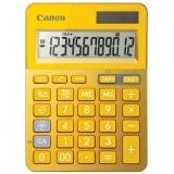Calculator de birou LS-123 galben 12 cifre Canon