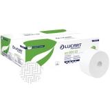 Hartie igienica 100% reciclata Jumbo Eco 900 ID pe rola 12 buc/bax Lucart