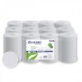 Prosop rola hartie alba 100% reciclata ECO 14CF, 12 buc/set Lucart