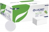 Prosoape hartie Eco V150, alb, 2 str. 20 pach/bax Lucart