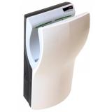 Uscator de maini vertical cu actionare senzor, din plastic alb, Dualflow Plus Mediclinics