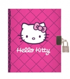 Caiet cu lacat A5 Hello Kitty