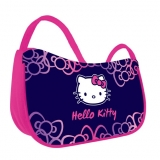 Geanta de umar mov Naomi Hello Kitty