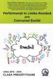 Culegere Performanta in Limba Romana prin Concursul Euclid clasa pregatitoare