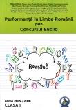 Culegere Performanta in Limba Romana prin Concursul Euclid clasa I