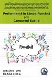 Culegere Performanta in Limba Romana prin Concursul Euclid clasa a III-a