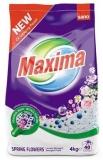 Detergent pudra, Spring Flowers, 40 spalari, 4 kg Sano Maxima
