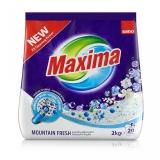 Detergent pudra, Mountain Fresh, 20 spalari, 2 kg Sano Maxima