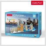 Puzzle 3D Londra 107 Piese Cubicfun