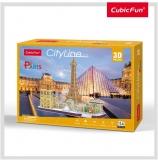 Puzzle 3D Paris 114 Piese Cubicfun