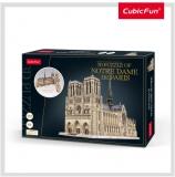 Puzzle 3D Notre Dame (Nivel Complex 293 Piese)  Cubicfun