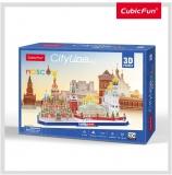 Puzzle 3D Moscova 107 Piese Cubicfun