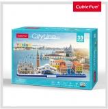 Puzzle 3D Venetia 126 Piese Cubicfun