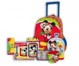 Pachet ghiozdan si rechizite Mickey Premium 3