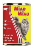 Conserva cu vita pentru pisici 415 g Miau-Miau