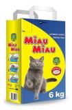 Nisip pentru pisici 6 kg Miau-Miau