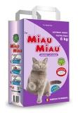 Nisip pisici lavanda 6 kg Miau-Miau