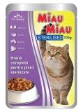 Pliculete Sterilised 100 g Miau-Miau