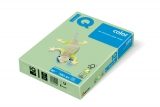 Hartie copiator IQ color pastel A4 medium green 80 g/mp, 500 coli/top