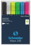 Marker pentru sticla Maxx 245 6 buc/set Schneider