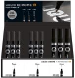 Set 36 markere, diferite dimensiuni, Liquid Chrome Molotow