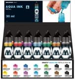 Set rezerve markere Aqua Ink, Set Starter, 30 ml, 28 buc/set Molotow