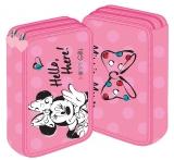 Penar neechipat 2 fermoare Minnie Mouse roz Pigna