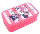 Penar neechipat 3 fermoare Minnie roz-cherry Pigna