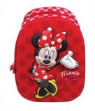 Ghiozdan Clasele 1-4 3D Minnie Mouse rosu Pigna