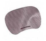 Mousepad argintiu mare precizie cu gel 3M