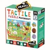 Montessori Puzzle Tactil Headu