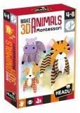 Montessori Animale 3D Headu