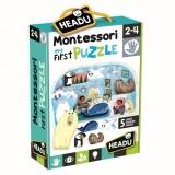 Montessori Primul Meu Puzzle Polul Nord Headu