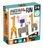 Montessori Animalute Tactile Amuzante Headu