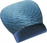 Mousepad bleu mare precizie cu gel 3M