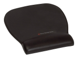Mousepad negru mare precizie cu gel 3M
