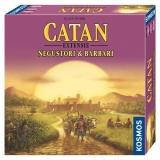 Joc de societate Catan Negustori & Barbari extensie 3/4 jucatori Kosmos