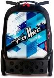 Ghiozdan Cool Blue Roller NIKIDOM + cadou rechizite de 100 lei