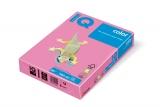Hartie copiator IQ color neon A4 pink 80 g/mp, 500 coli/top