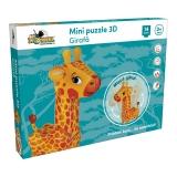 Mini puzzle 3D Girafa Noriel